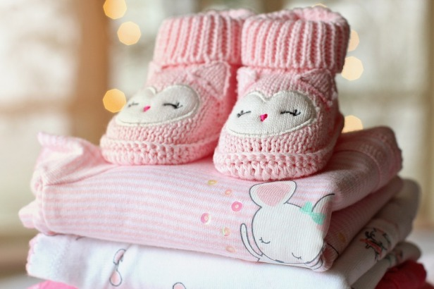 Pink Girl Baby Clothes Baby Girl Booties Baby