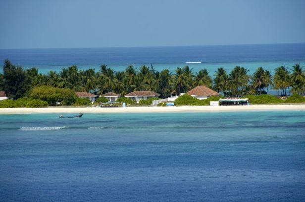 A_beach_side_resort_at_Kadmat_Island,_Lakshadweep